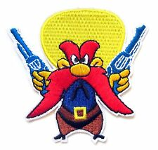 Yosemite Sam Iron On Patch- Looney Tunes Cartoon Character Badge Embroidered Sew