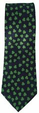 Men's Irish Neck Tie Green Shamrock Ireland