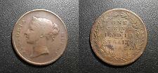Straits Settlements - colonie Britannique - Victoria - 1 cent 1862 KM#6