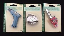 Lot of 3 ACME Refrigerator Magnets Drill Circular Saw Chainsaw Mini Magnets