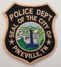 Police Department Seal Of The City Of Pikeville Tn Police Uniform Patch #Pd-Pk