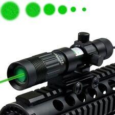 Stock Hunting Flashlight Green Laser Sight Scope Weaver mount for Pistol Handgun