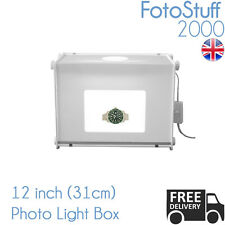 Professional MEDIUM 31cm PHOTO Studio Kit mk30 Mini Luce Box Cubo Tenda UK STOCK