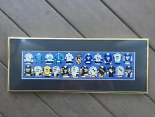 1967 - 2002 Pittsburgh Penguins Jersey Evolution XXXV CUSTOM FRAMED & MATTED