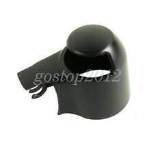 For VW GOLF PASSAT POLO TOURAN 2004-2008 Black Rear Wind Wiper Arm Cap Nut Cover