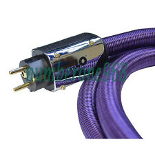 2m XLO Purple Rush power cord Audiophile Power cable 2.0M US ver ac cable