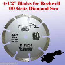 "60G 4-1/2"" inch Diamond Circular Saw Blade for ROCKWELL RK3441K WORX RW9283"