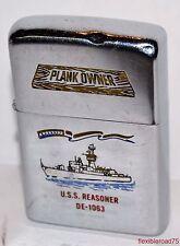 Zippo Lighter 1971 USS Reasoner DE-1063 Destroyer Escort - Vietnam Era