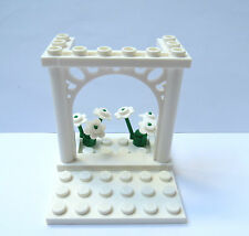 Lego Wedding Arch For Bride & Groom Minifigures Table Cake Topper Decoration