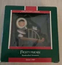 1989 Frosty Friends #10 In Series Box With Tag !