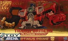 Transformers Platinum Edition Year of the Snake Optimus Prime 2013 Hasbro
