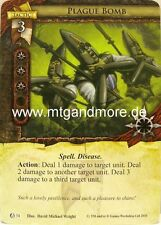 Warhammer Invasion LCG - 1x Plague Bomb  #034 - The Chaos Moon