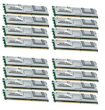 16x 4GB 64GB RAM 2Rx4 FB DIMM Speicher 667 Mhz ECC Fully Buffered DDR2 PC2-5300F