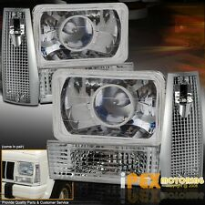 84-96 Jeep CHEROKEE Projector Head Lights + Signal Parking & Corner Marker Lamps