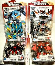Transformers Generations NIGHTBEAT CROSSCUT WINDBLADE JHIAXUS 30th IDW Set of 4