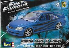 Revell Honda Civic Si Coupe, Cars from Fast and Furious 1/25 85-4331 ST