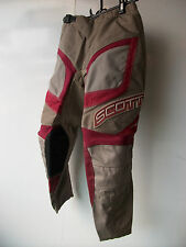 "New Kids Youth Red Scott Motocross Pants Sz 24"" Age 5-7 Trousers Honda Mx CR SX"