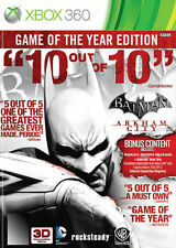 Batman Arkham City Game of the Year Edition Xbox 360 PAL