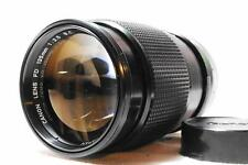 [EXCELLENT+++] CANON FD 135mm F2.5 S.C. MF Lens  w/R.Cap From Japan