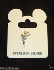 Walt Disney World Sterling Silver Fairy Charm Tinkerbell New On Card