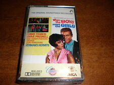 When The Boys Meet The Girls CASSETTE soundtrack NEW