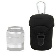 JJC JN-L Lens Case Bag Pouch For 18-55mm 60mm 1:2.8 Macro  50mm 24mm 28mm 14-42