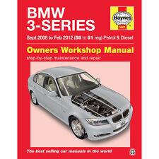 BMW 3 Series 2.0 Petrol 2.0 3.0 Diesel 2008 to 2012 Haynes Workshop Manual 58-61