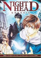 Night Head Genesis Complete Collection Anime DVD NEW!