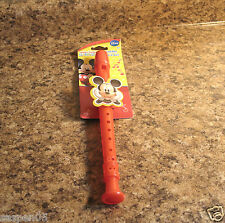 Disney MICKEY MOUSE CLUBHOUSE Flute Recorder Musical Instrument NEW