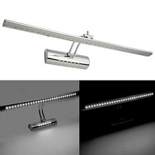 Stainless Steel LED Bathroom Make-up Mirror Front Picture Wall Light Bar Lamp