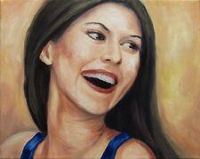 Jannys ART - Karo - Kunst Malerei Portrait handgemalt Öl Gemälde Bild Leinwand