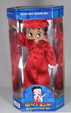 "Betty Boop College School Graduate Gown Doll 12""  Red High School College"