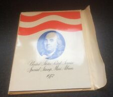 United States Postal Service Special Stamp Mini-Album 1972