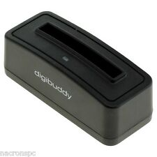 Station Charge Batterie Casio NP-30 Fuji NP-60 Finepix HP R07 R607 Micro USB