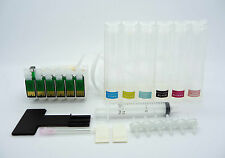 CISS CIS Empty Continuous Ink System Fits Epson PX700W PX710W PX720WD NON-OEM