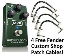 New MXR M169 Carbon Copy Analog Delay Guitar Effects Pedal! Free Fender Patches!