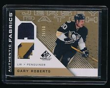 GARY ROBERTS 2007-08 SP GAME USED AUTHENTIC FABRICS PATCH 29/50 PENGUINS