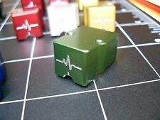 ParadoxPulse Guard phono cartridge body GREEN, Denon DL103, DL103R, T-6