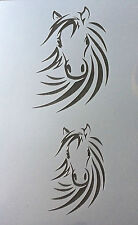Horse Head Mylar Reusable Stencil Airbrush Painting Art Craft DIY