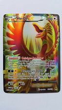 Pokemon Karte Ho-OH ex Full Art, TOP! Deutsch aus Turbofieber, SELTEN