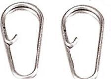 10 Deluxe Split Anello Clip collegamenti 4 facile cambiamento dei Lead vantaggi Rigs PESCA MARE