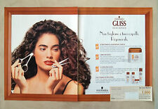 D569 - Advertising Pubblicità - 1997 - GLISS HAIR REPAIR TESTANERA