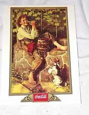 Postcard of Coca-Cola Norman Rockwell 1932 Calendar Cover Unposted