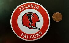 "Atlanta Falcons vintage embroidered iron on  Patch 3"" x 3"" NFL"