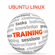 Ubuntu Linux-Video Tutorial DVD de entrenamiento