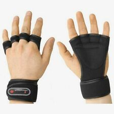 Weight Lifting Gloves Fitness Gym Training Crossfit Long Wrist Wrap M for women