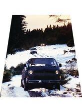 1987 Steyr Daimler Puch Off Road - Original Car Review Print Article J396