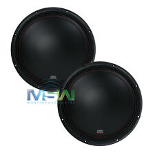 """(2) MTX 3510-04 10"""" 35-Series SINGLE 4-OHM CAR AUDIO STEREO SUBS SUBWOOFERS PAIR"""