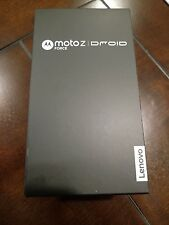 NEW MOTOROLA VERIZON MOTO Z FORCE DROID 64GB BLACK FACTORY UNLOCKED