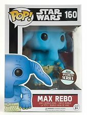 FUNKO POP! MAX REBO STAR WARS #160  SPECIALTY SERIES EXCLUSIVE VINYL NEW LIMITED